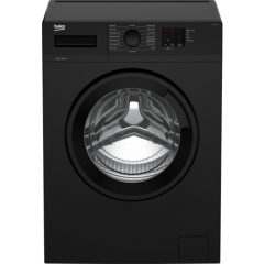 Beko WTK72041B 7kg 1200 Spin Washing Machine - Black  Beko WTK72041B 7kg 1200 Spin Washing Machine - Black