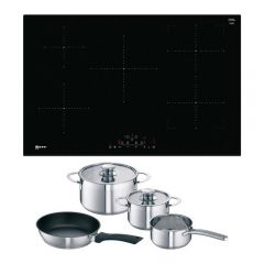 Neff T48FD23X2KIT Frameless Induction Hob with CombiZone