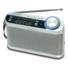 Roberts R9993 3-band battery portable radio Silver