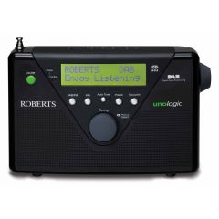 Roberts Unologic DAB/FM digital radio in Black