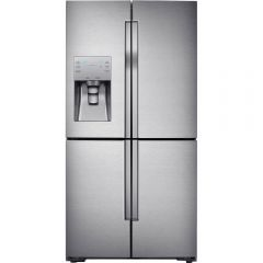 Samsung RF56J9040SR American Style Fridge Freezer, Stainless Steel