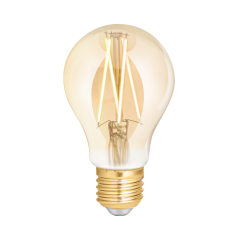 Wiz WZ21026011_A E27 GLS Smart Filament Bulb Amber Fully Dimmable Warm White. 40w eq.