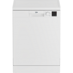 Beko DVN05C20W Full Size Dishwasher - White