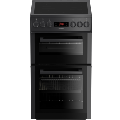 Blomberg HKS900N 50cm Electric Cooker with Ceramic Hob - Anthracite