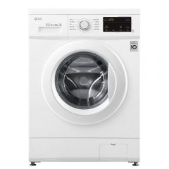 LG F4MT08WE 8kg 1400 Spin Washing Machine with 6 Motion Direct Drive - White