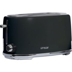 Linsar KY832BLACK 4 Slice Toaster - Black