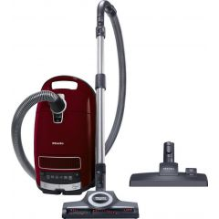 Miele C3CAT&DOG Bagged Vacuum Cleaner-Tayberry Red