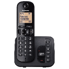 Panasonic KX-TGC220EB Single Phone With Answerphone