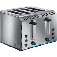 Russell Hobbs 20750 Buckingham 4 Slice Toaster Stainless Steel