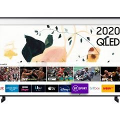 "Samsung - The Frame QE43LS03TAUXXU 43"" 4K QLED Smart TV"