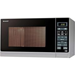 Sharp R372SLM 25 Litre 900 watts Microwave - Silver