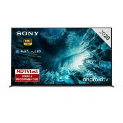 """Sony KD75ZH8BU 75"""" 8K HDR Full Array LED Android TV with Triluminos Display & Acoustic Multi-Audio"""