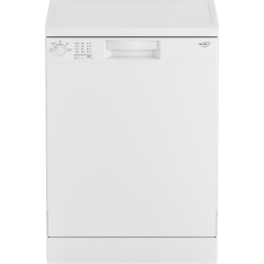 Zenith ZDW600W Full Size Dishwasher - A+ Energy Rated